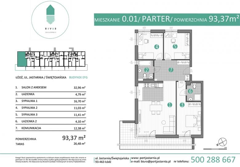 Apartament nr. 0.01