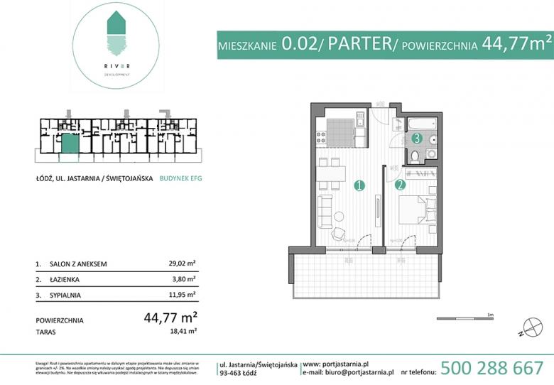 Apartament nr. 0.02