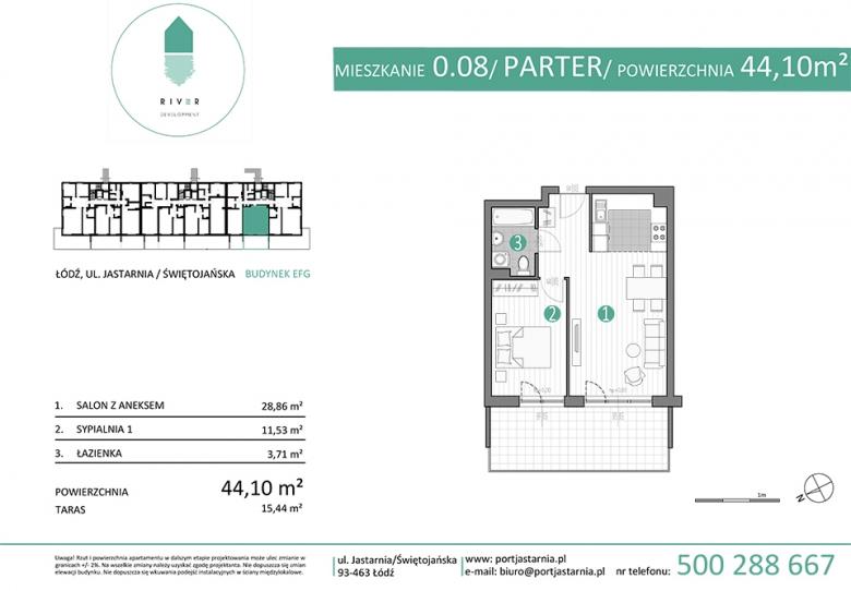 Apartament nr. 0.08