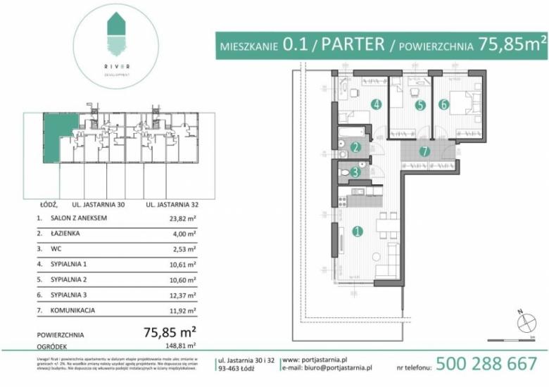 Apartament nr. 0.1