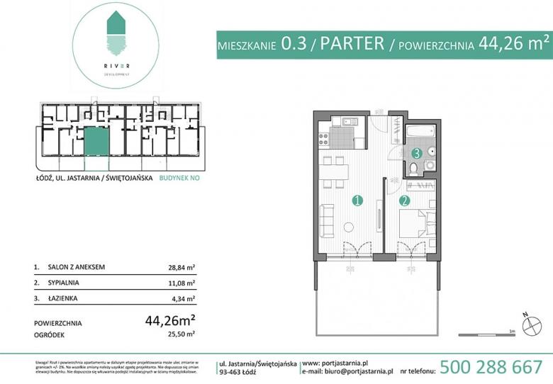 Apartament nr. 0.3