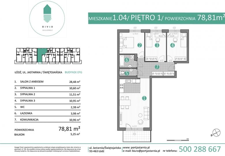 Apartament nr. 1.04