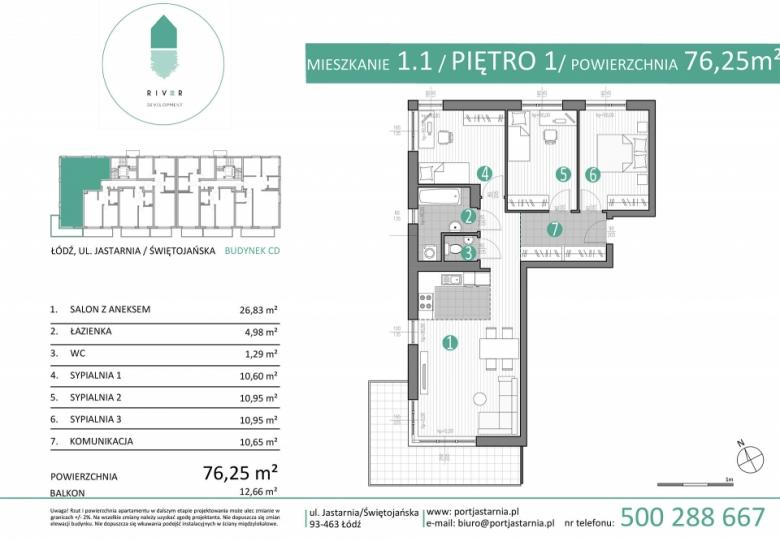 Apartament nr. 1.1