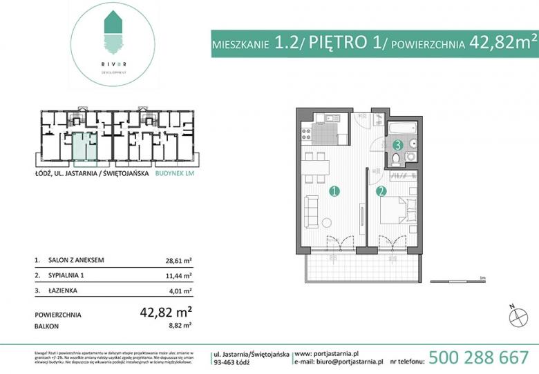 Apartament nr. 1.2
