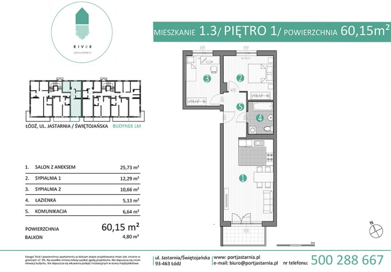 Apartament nr. 1.3