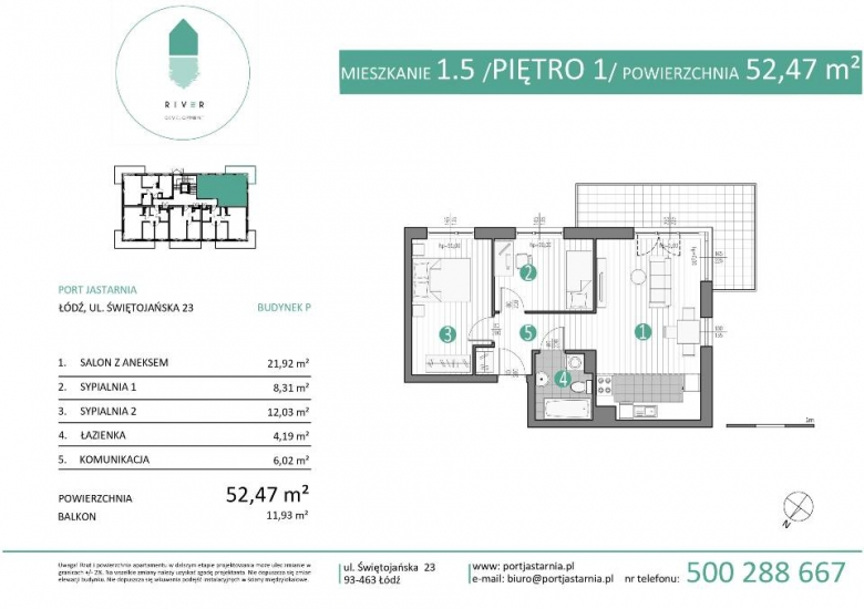 Apartament nr. 1.5
