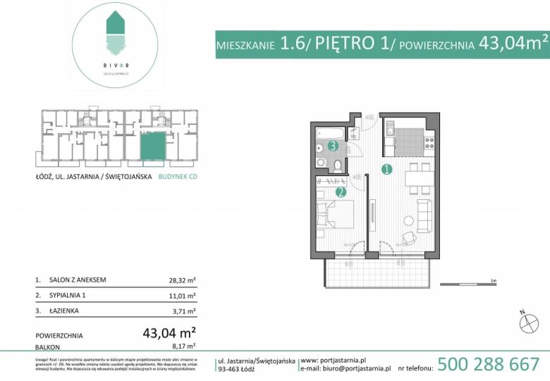 Apartament nr. 1.6
