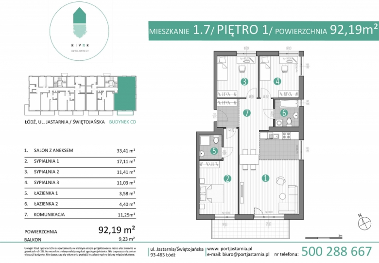 Apartament nr. 1.7