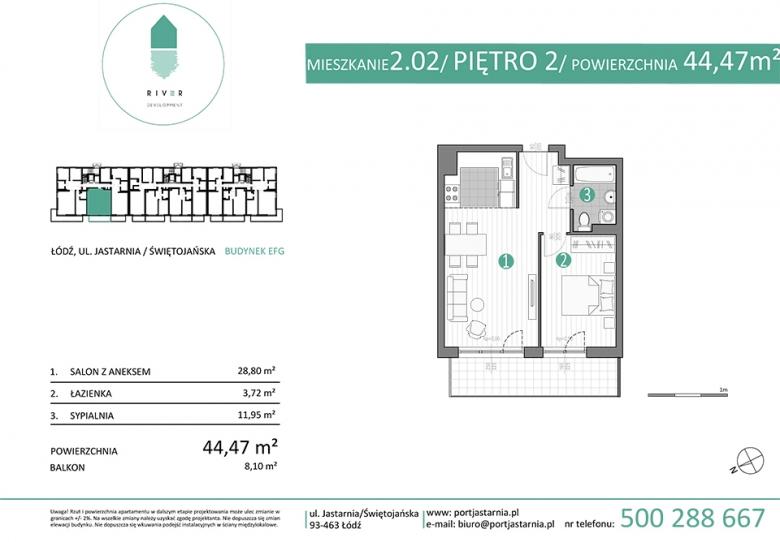 Apartament nr. 2.02