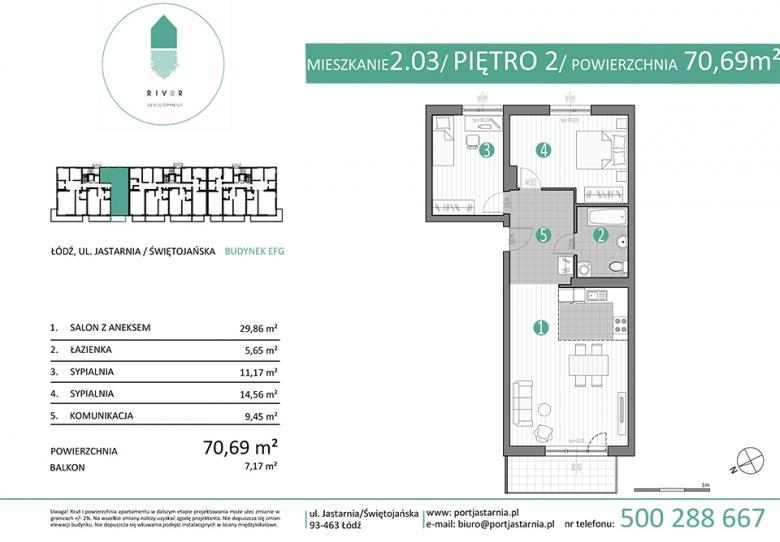 Apartament nr. 2.03