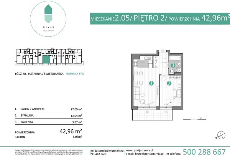Apartament nr. 2.05