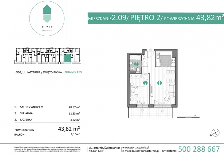Apartament nr. 2.09