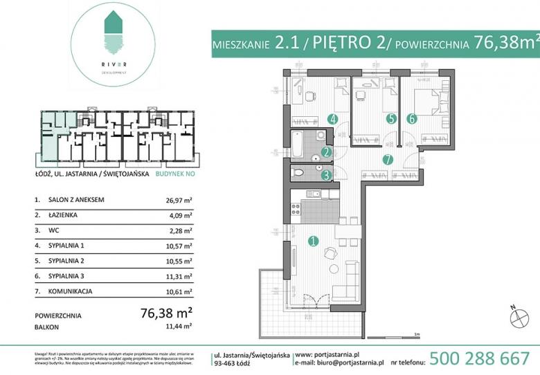 Apartament nr. 2.1
