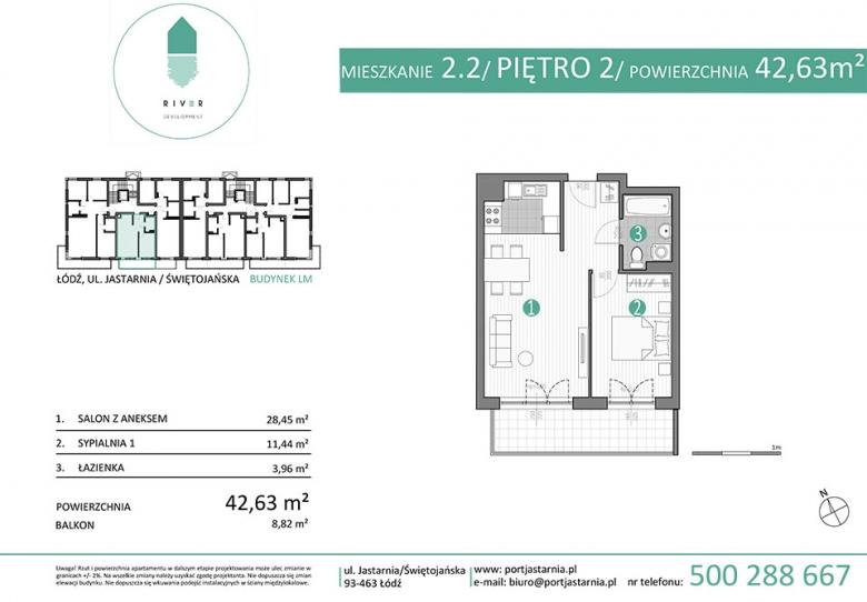 Apartament nr. 2.2