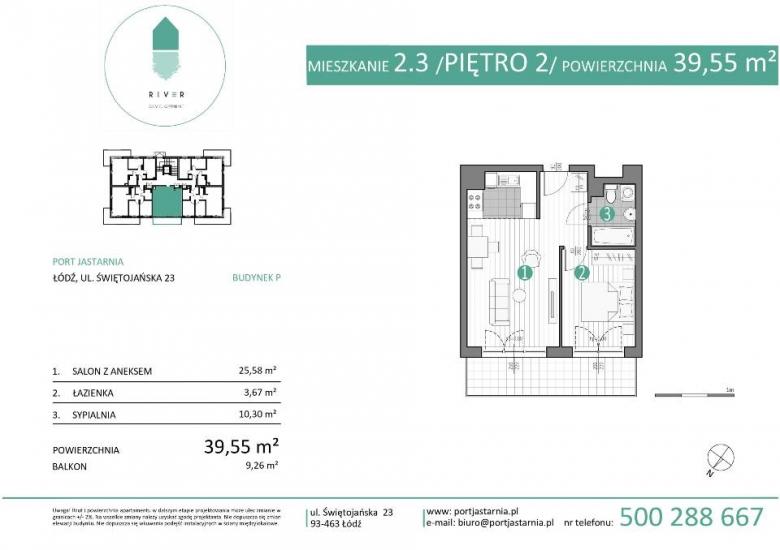 Apartament nr. 2.3