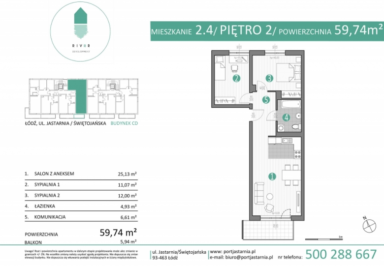 Apartament nr. 2.4