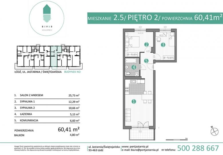 Apartament nr. 2.5