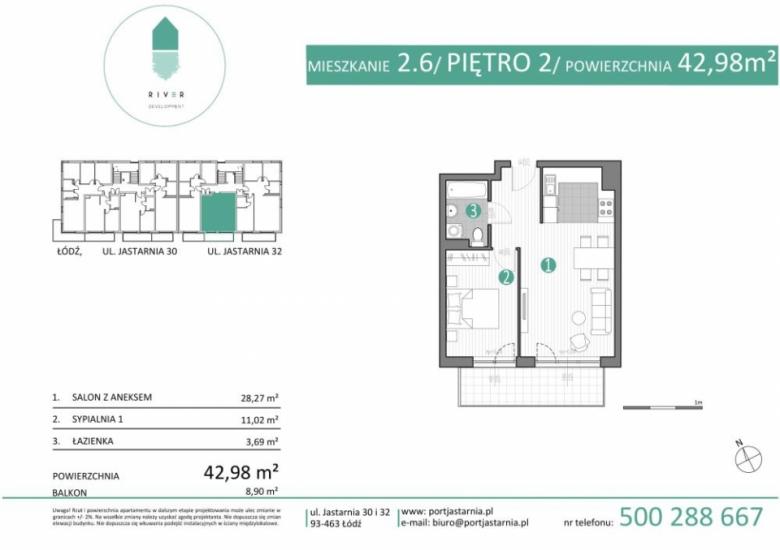Apartament nr. 2.6