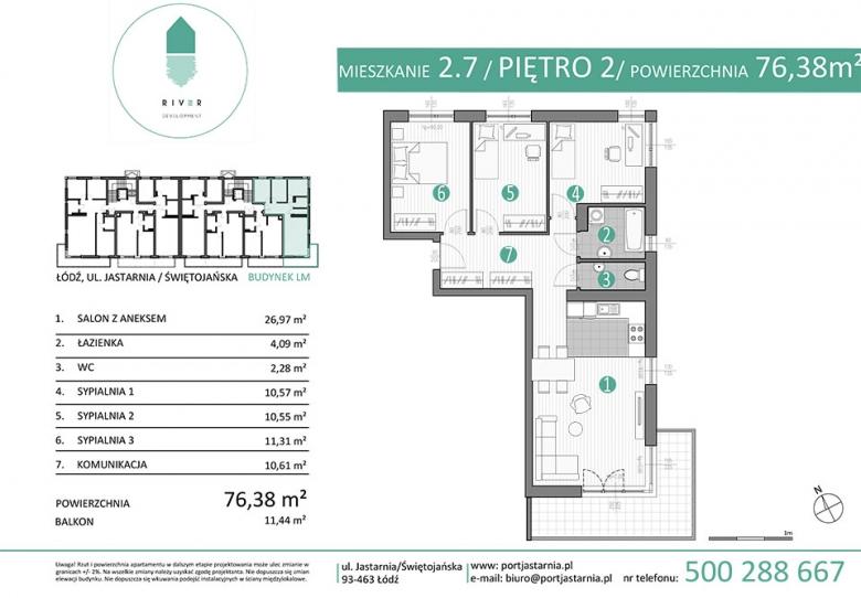 Apartament nr. 2.7